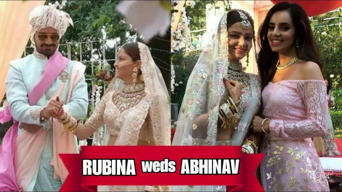 REAL WEDDING Rubina Dilaik aka Saumya of shakti astitva ke