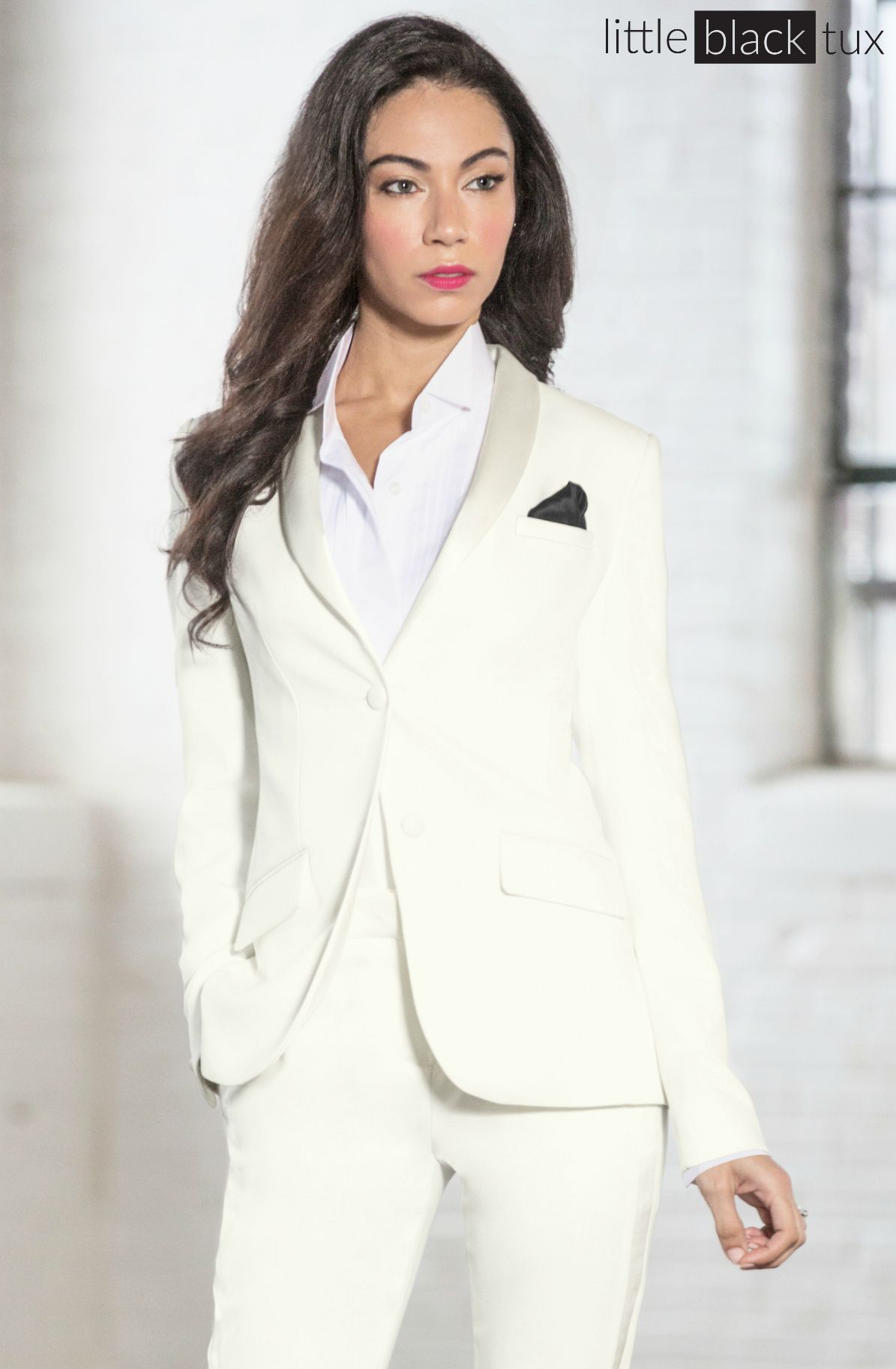 Women S Ivory Diamond White Tuxedo Ladytux Shawl Collar Slim Fit Belt Loops Satin Lapel Female Tuxedo Tuxedo Women Tuxedo Women Suits Bridesmaid Suits [ 1825 x 1195 Pixel ]