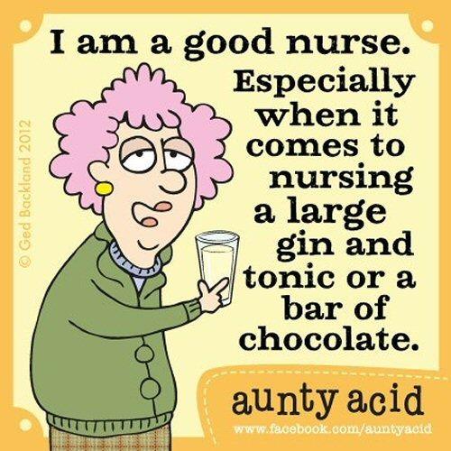 Aunty Acid Jokes | Aunty Acid on nursing