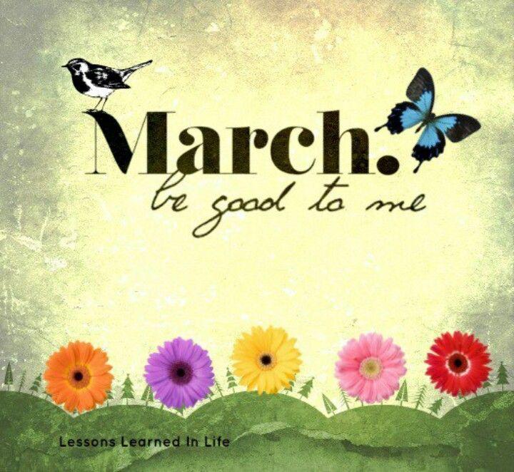 Hello March Hello March Quotes Hello March March Month