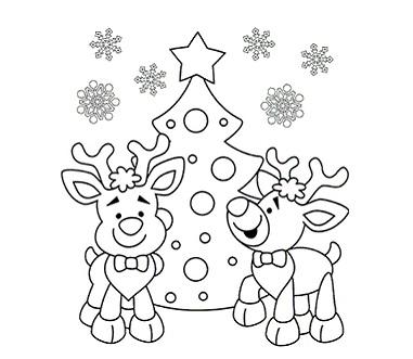 kerst kleurplaten voor peuters en kleuters in 2020