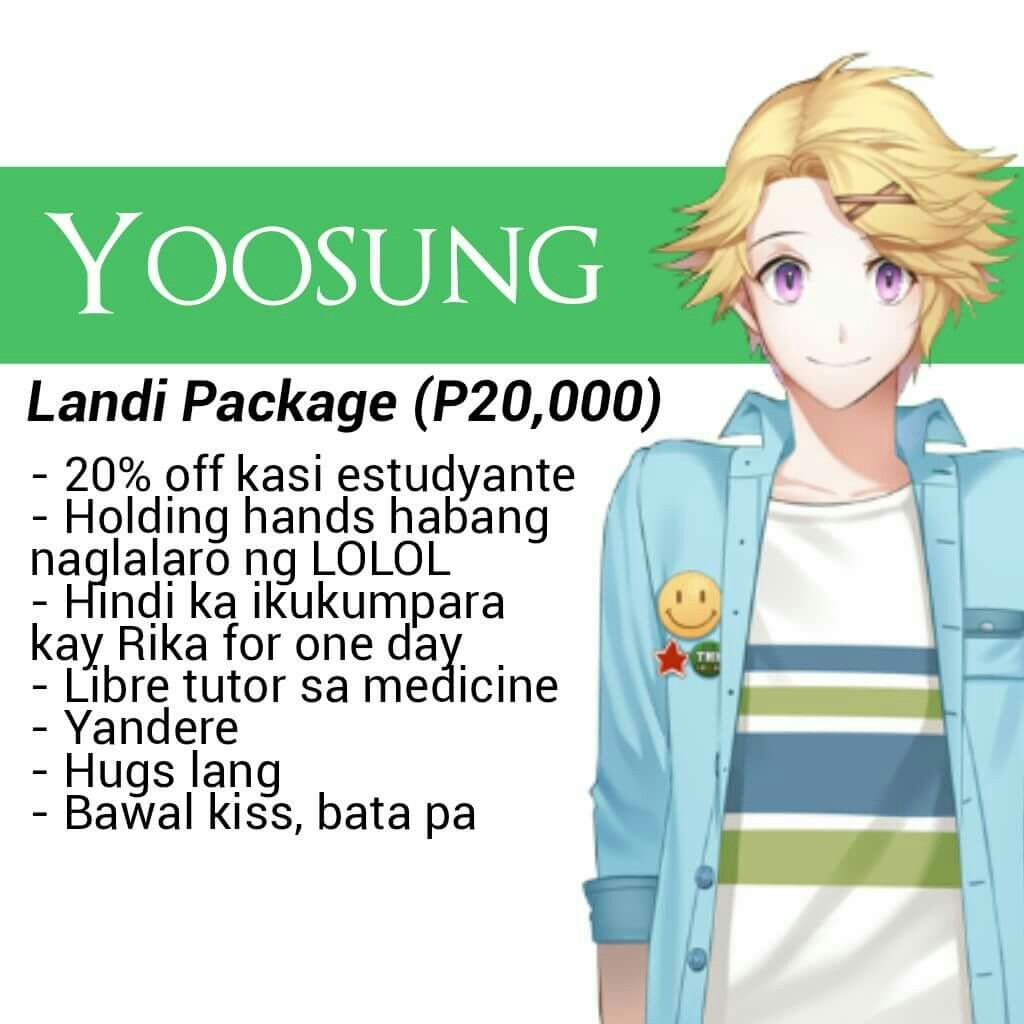 Yoosung Valentine S Day Package Its Cheap Mystic Messenger