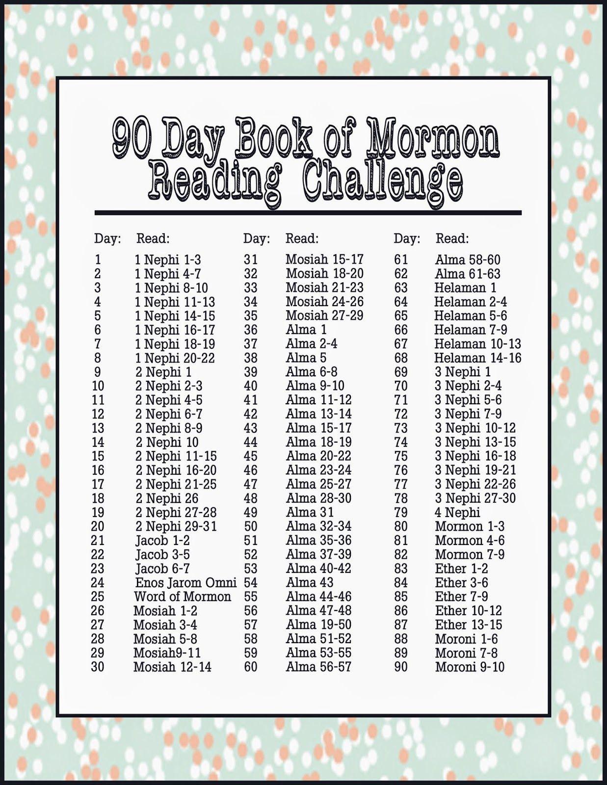 Autumn bennett book of mormon challenge worm hand out also day reading schedule church pinterest rh