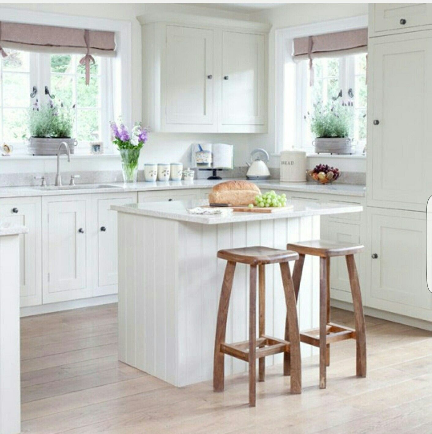 20 Charming Cottage Style Kitchen Decors: Skönhet Köksö