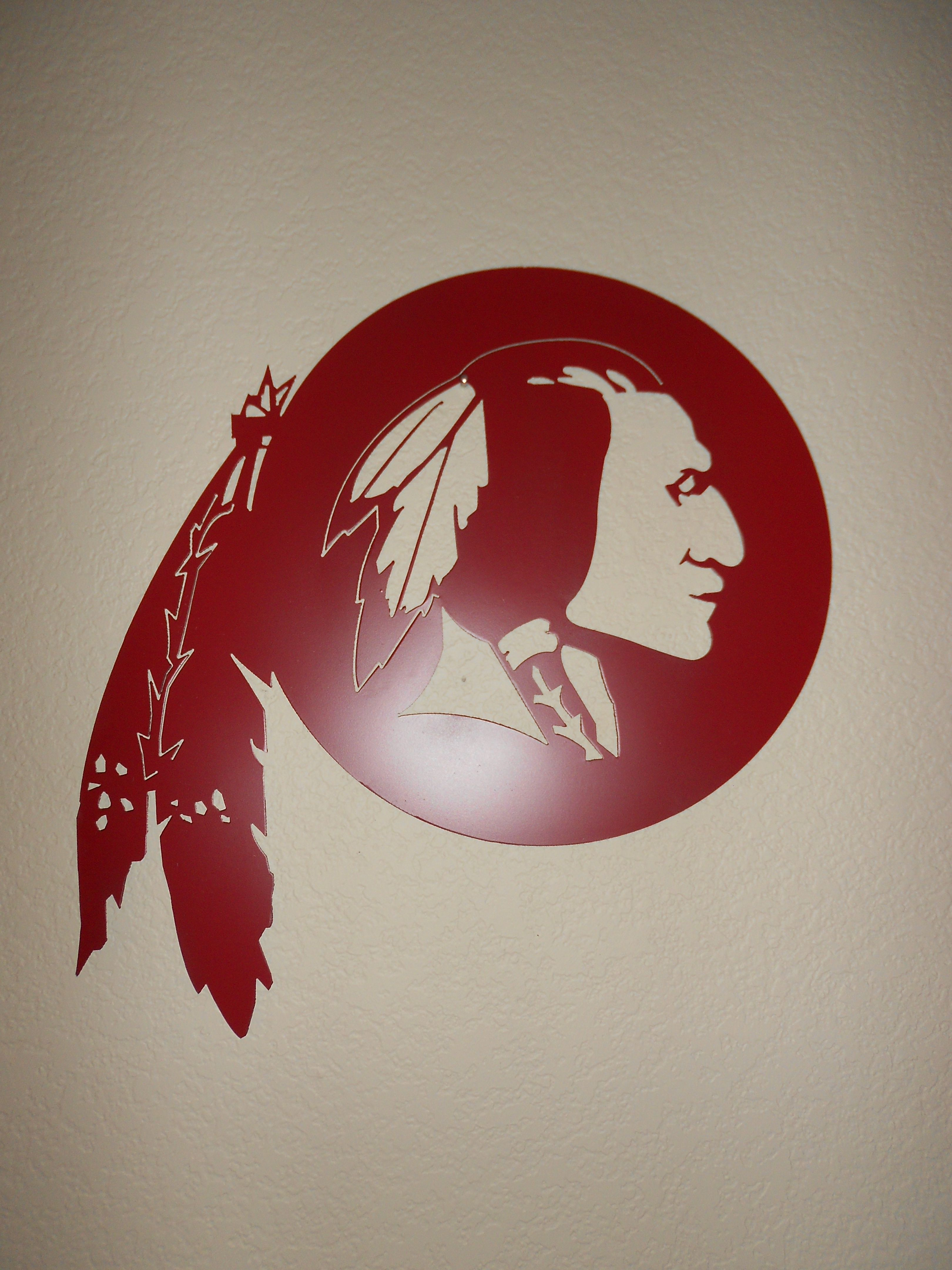 Washington Redskins metal wall art  cf7f737e6