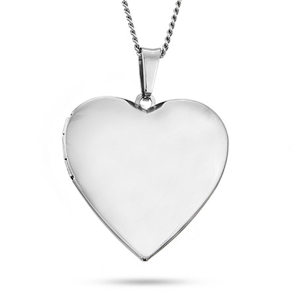 Engravable polished heart photo locket messages and photos eves addiction offers custom engraving add a message to this heart photo locket in stainless steel a perfect gift to send from the heart mozeypictures Gallery
