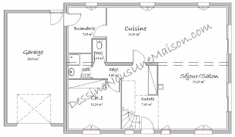 Plans de Maisons individuelles avec étage (ou combles aménagés