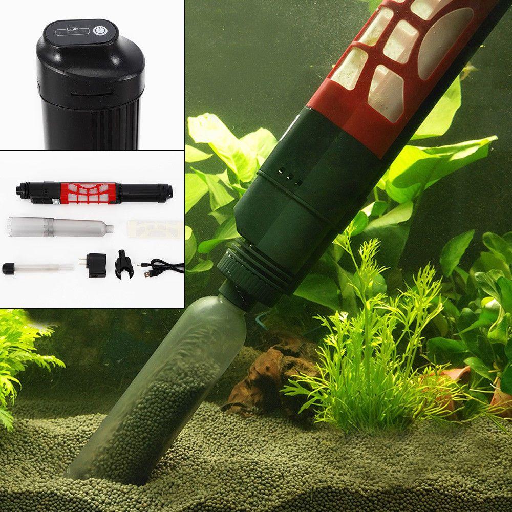 Aquarium clean vacuum water change cleaner fish tank pump