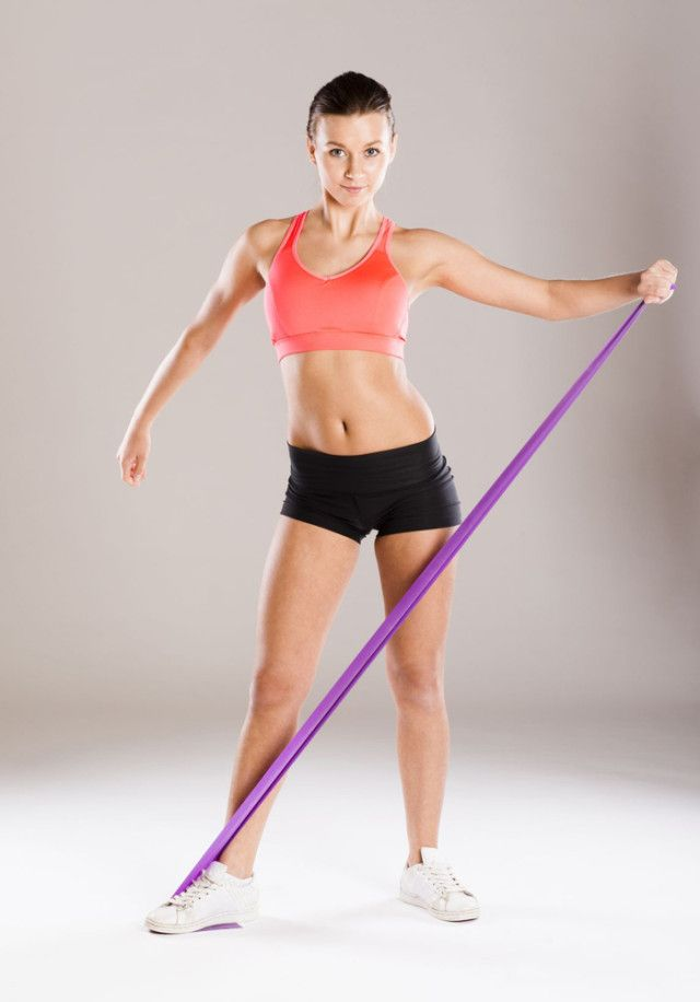 Get Rid Of Those Flabby Arms With A Killer Resistance Bands Routine 227d44e536