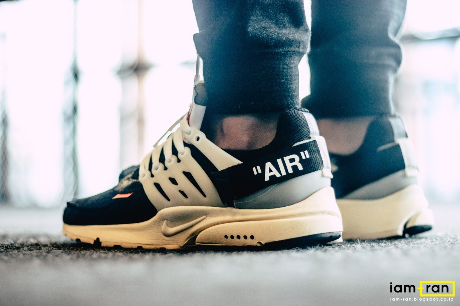 b5a5a2444 Image result for off white presto on feet' | Shoes in 2019 ...