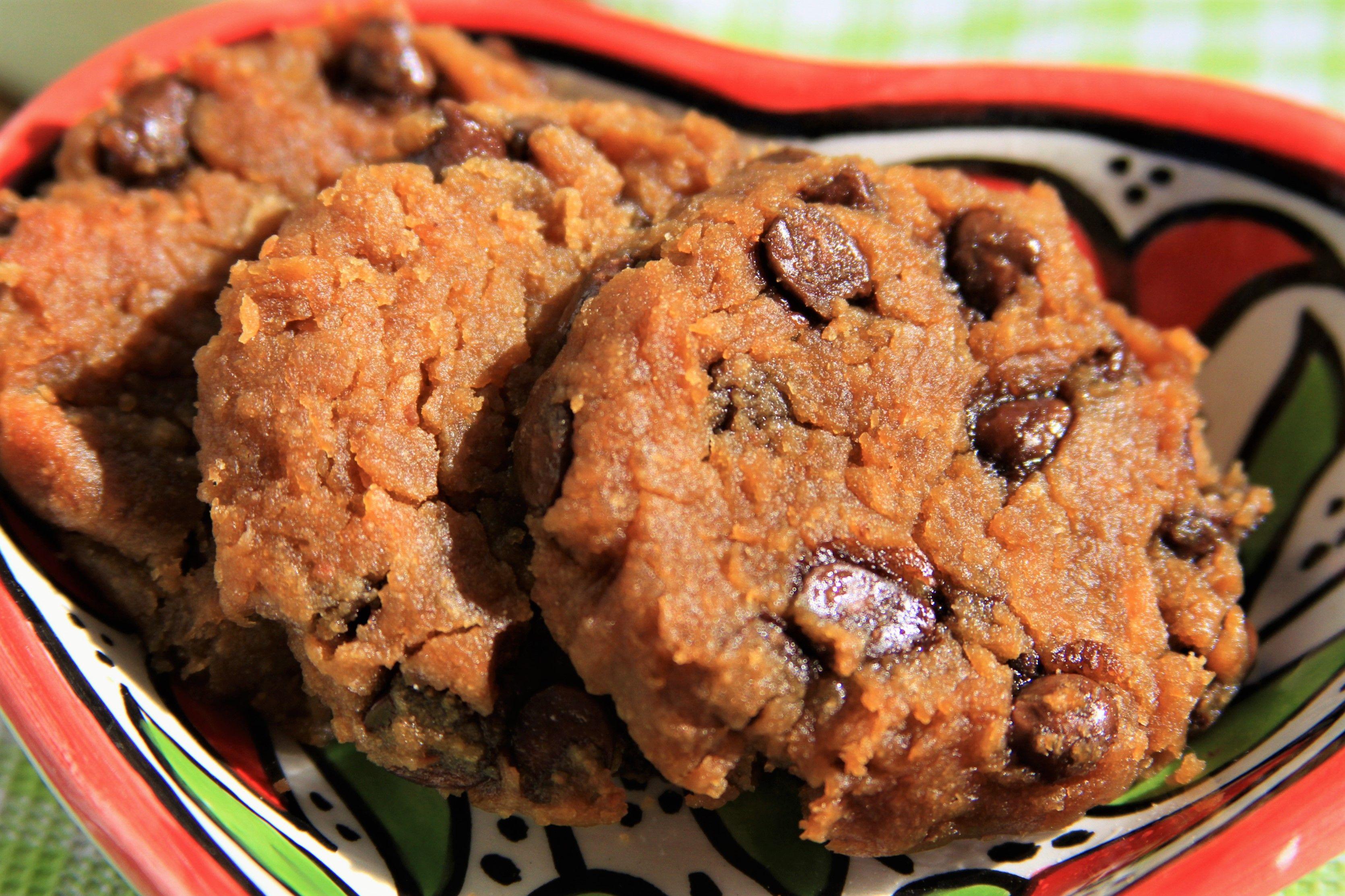 cookies fit de pacoca receitas saudaveis com a chef susan martha amor pela comida cookies de chocolate receitas cookies pinterest