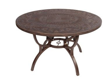 Shop For 48 Quot Round Table Aged Copper And Other Outdoor
