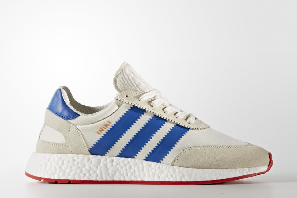 adidas Originals started March with the debut of the Iniki Runner, a retro styled silhouette that is anchored on a contemporary tech sole. The BOOST cushio
