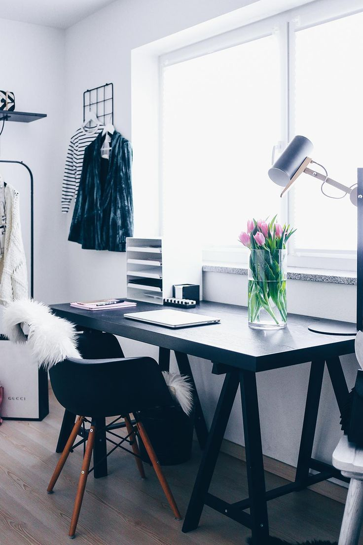 GroBartig Fashion Blogger Home Office, Stylisches Home Office, Büro Für Zuhause,  Workspace Einrichten,