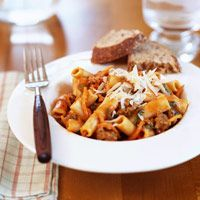 Ziti With Meat Sauce Recipe Diabetic Recipes Pinterest