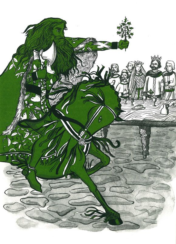 a plot summary of the tale of sir gawain and the green knight Sword of the valiant: the legend of sir gawain and the green knight is a 1984 dramatic fantasy film directed by stephen weeks and starring miles o'keeffe, trevor howard, lila kedrova, cyrielle clair, leigh lawson, peter cushing, and sean connery.