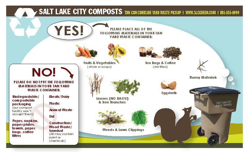 Yard Waste Compost Bin Check It Out Wastesalt Lake