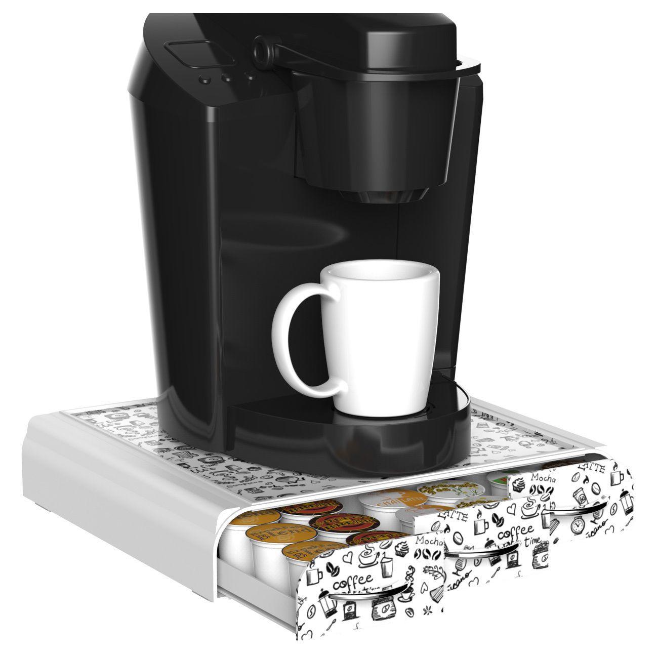 Mindreader Mind Reader Anchor Coffee Pod Triple Drawer 36 Capacity