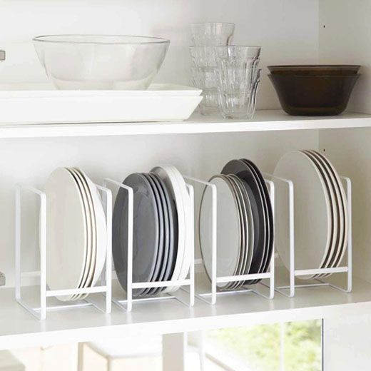 La Apartments Cheap: Range-assiettes En Métal Blanc