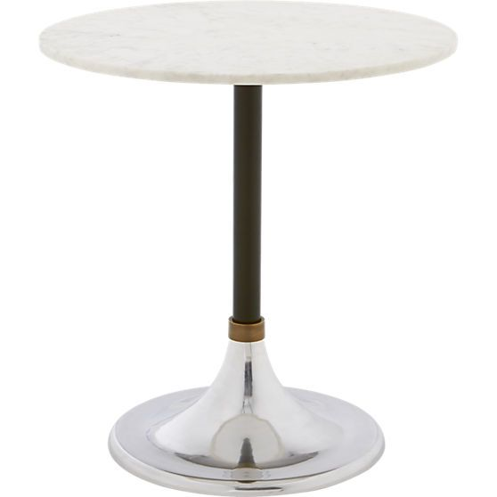 Hackney Marble Cocktail Table In Dining Tables CB Home Decor - Cb2 cocktail table