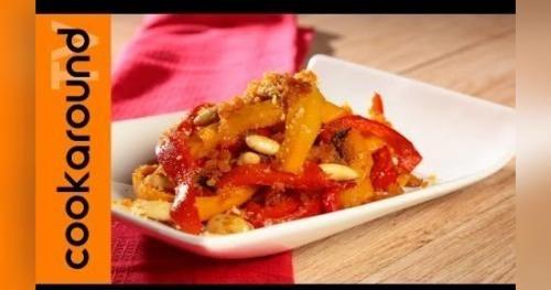 Cucina facile con i video: Cucina siciliana: peperoni alla siracusana