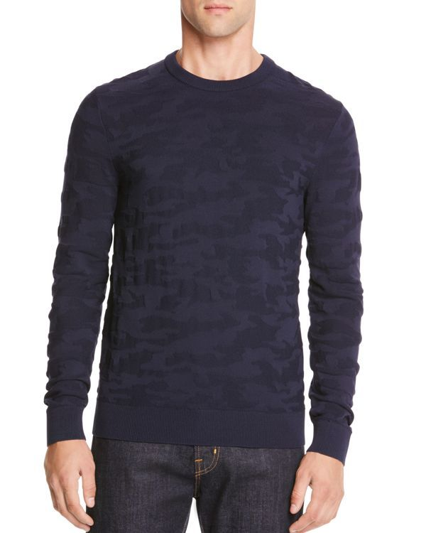 Michael Kors Techy Camouflage Sweater