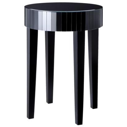Tables Mirror Round Accent Side Table Black Target This is the