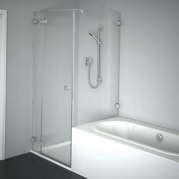 Duscholux Duschwand collection 3 plus pendeltÜr : duschen : produkte : duscholux | bad