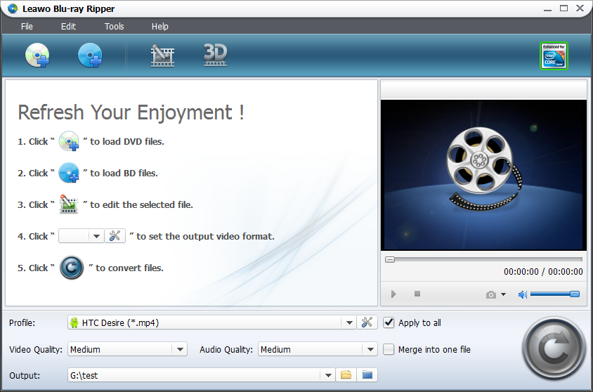 Leawo Blu-ray Ripper – Review. Convert DVD and Blu-ray content for various mobile devices  http://www.softpedia.com/reviews/windows/Leawo-Blu-ray-Ripper-Review-376212.shtml