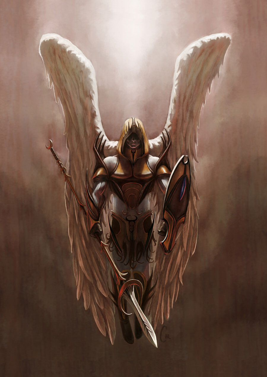 Archangel Michael Art In 2019 Angel Warrior