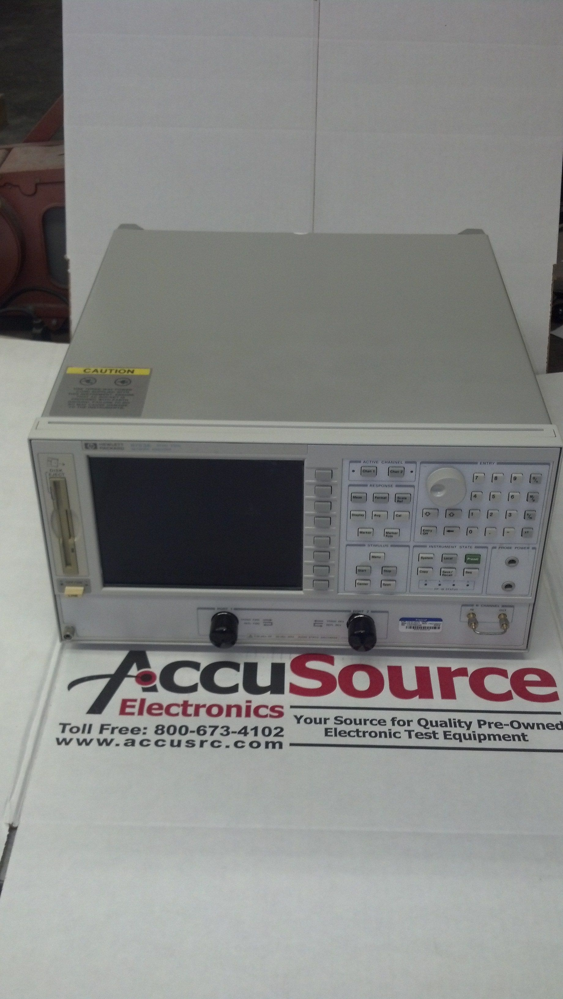 Agilent HP 8753E / 006 Vector Network Analyzer, 30 kHz to 6 GHz with