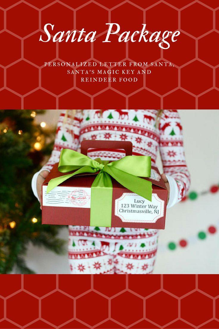 Etsy  Letter From Santa Santa Letter  Personalized Santa Letter