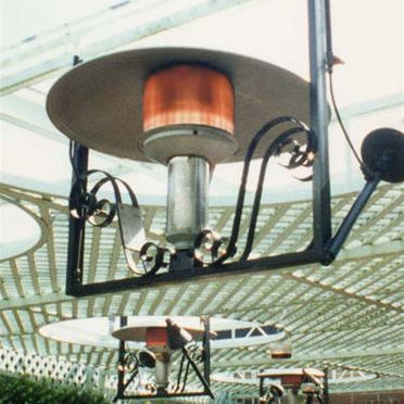 Delightful Sunglo Decorative Hanging Natural Gas Patio Heater