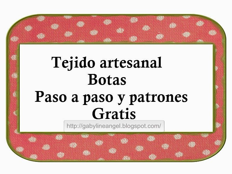 Contemporáneo Botas Patrón De Crochet Adorno - Manta de Tejer Patrón ...