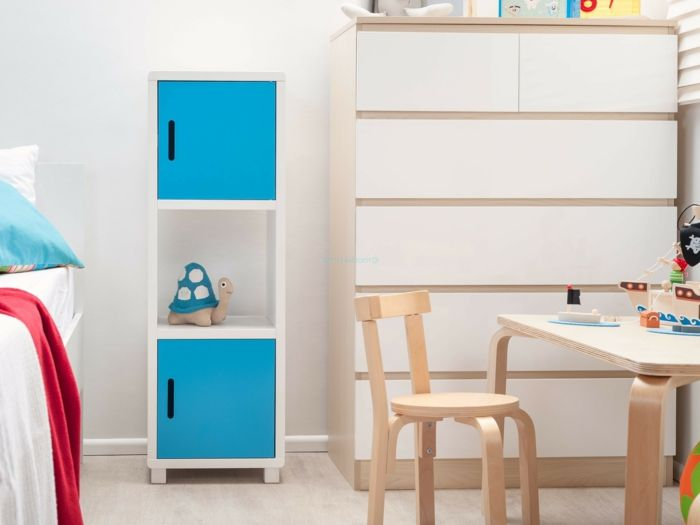 möbel kinderzimmer stauraum ideen helle wände Kinderzimmer