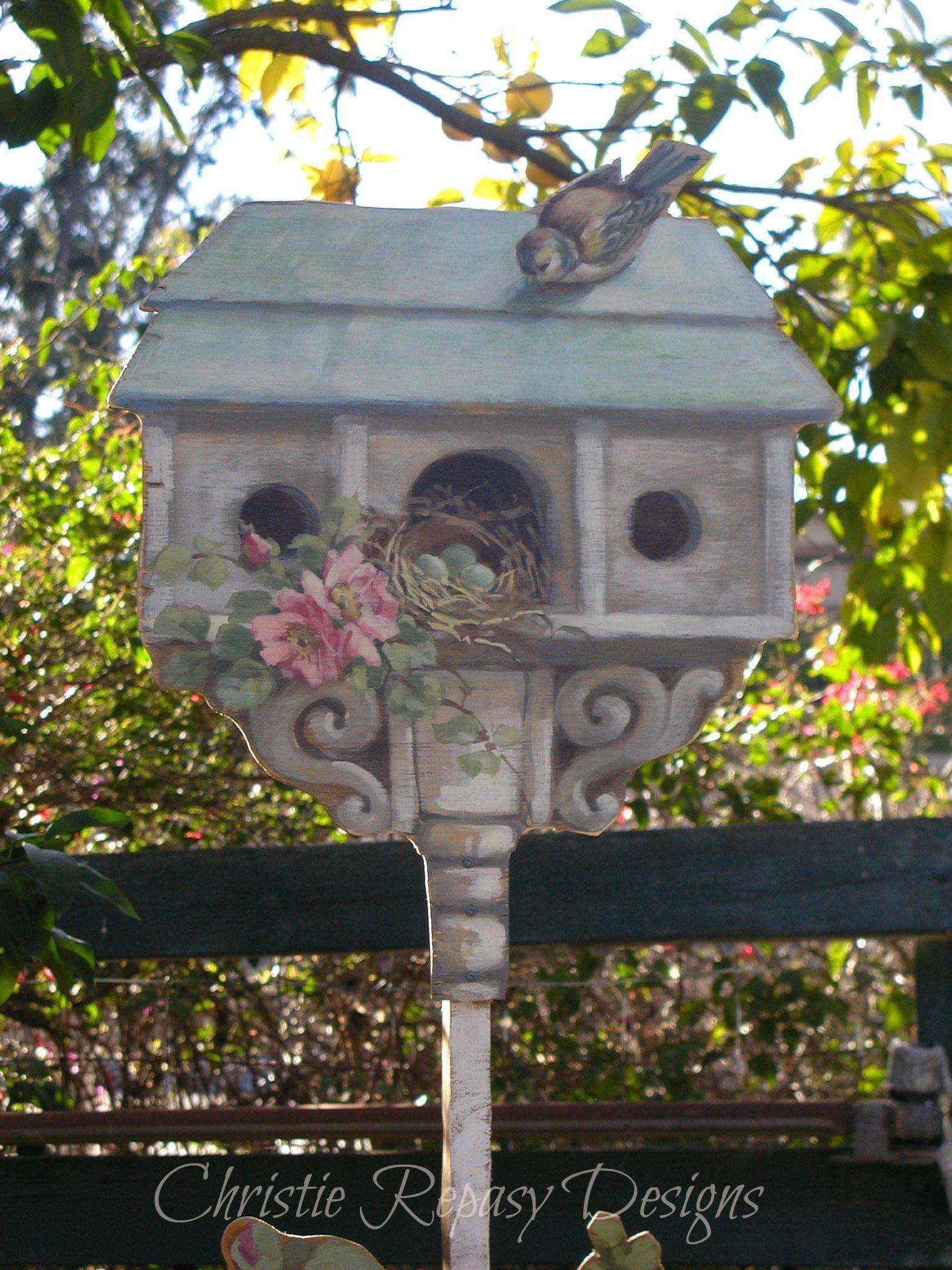 Bird House Bird Houses Bird Houses Painted Bird