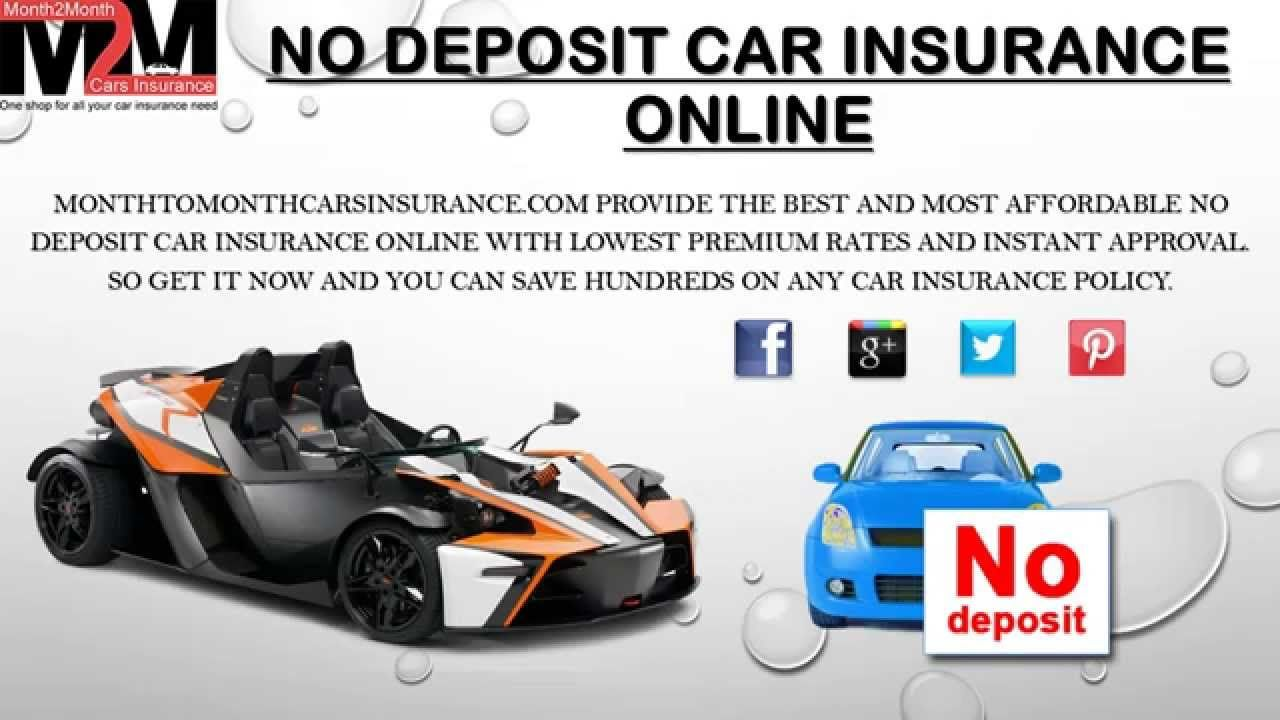 Best No Deposit Car Insurance Quote Online No Deposit Car - No deposit car insurance