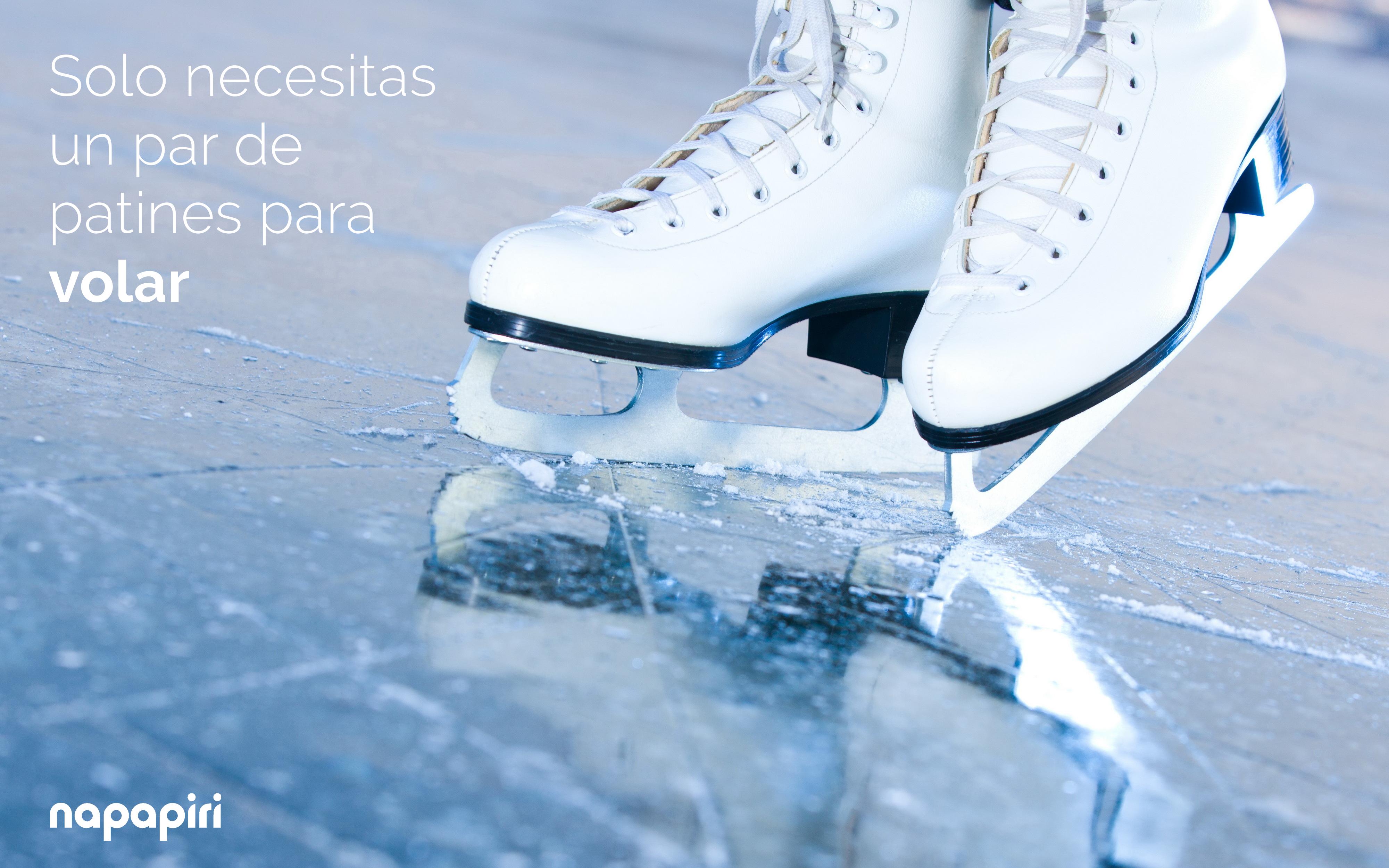 Solo necesitas un par de #patines para volar. http://www ...