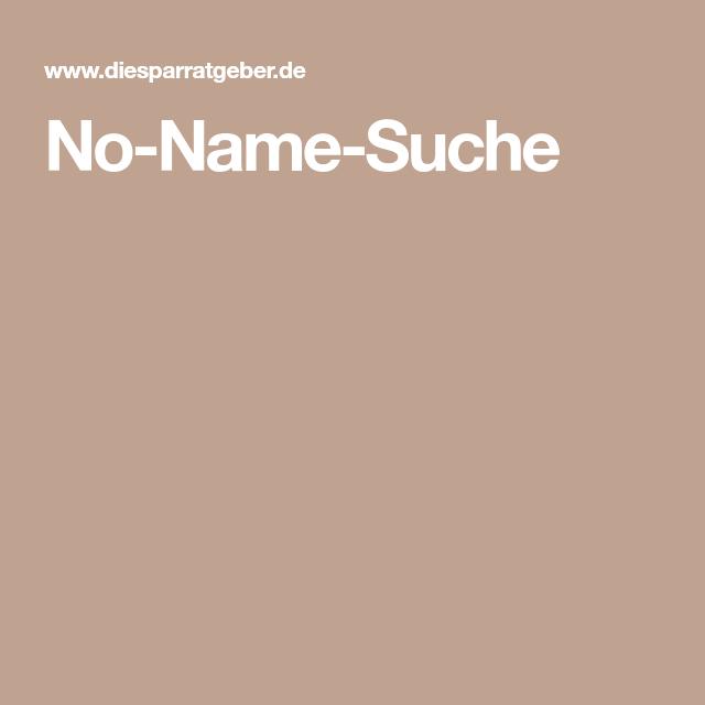 No-Name-Suche | Name, Suche, Billig einkaufen