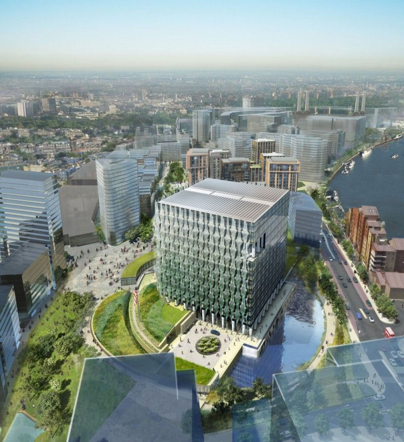 Embassy Park Apartments: Nine Elms, Ballymore Submits Planning Application For
