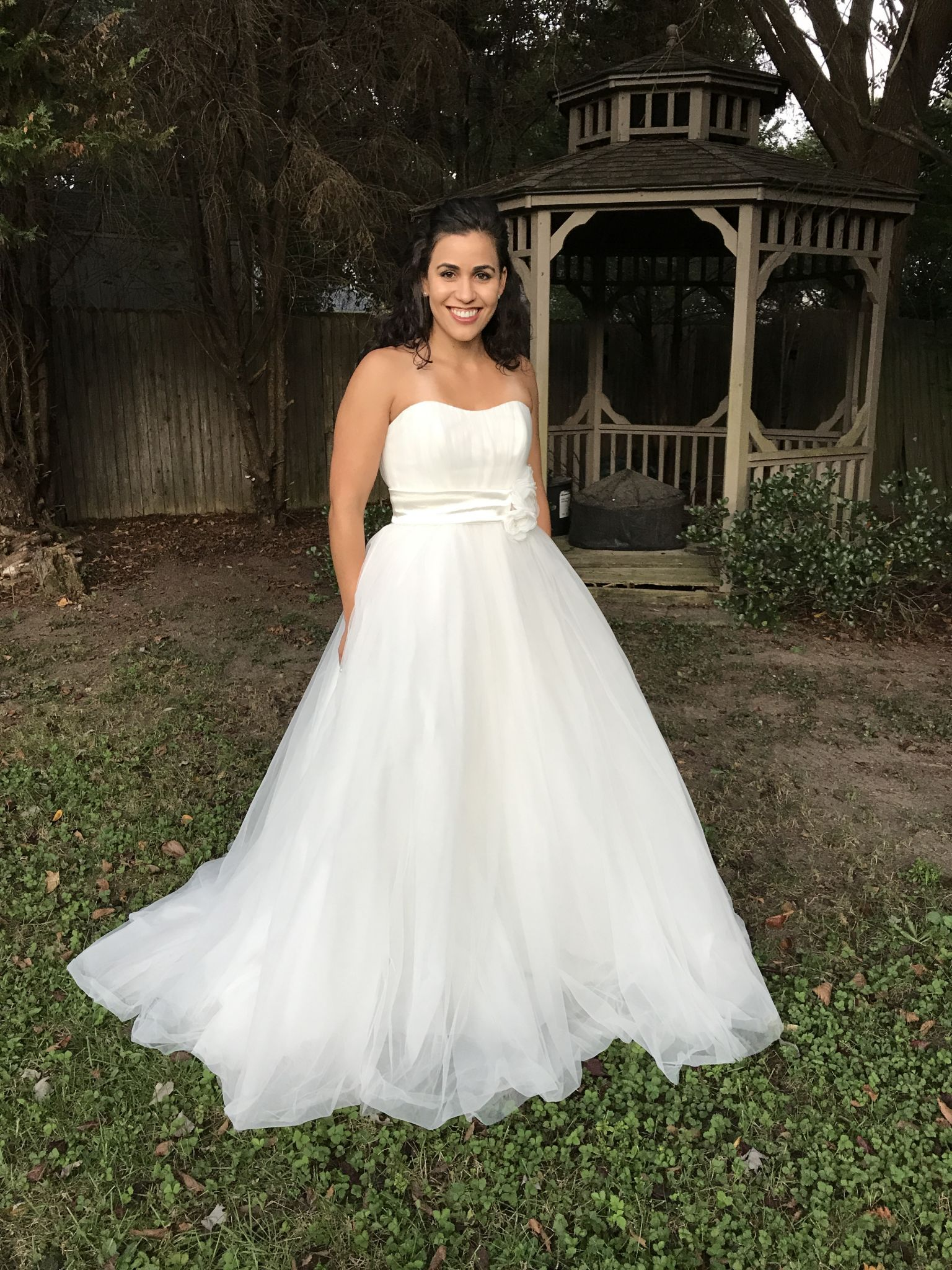 Alfred Angelo 720 Snow White - Disney Fairy Tale (2013), $479 Size: 6 | New (Un-Altered) Wedding Dresses