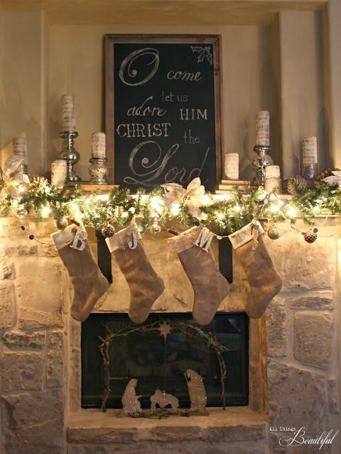 FRENCH COUNTRY COTTAGE: Feathered Nest Friday | Christmas | Pinterest