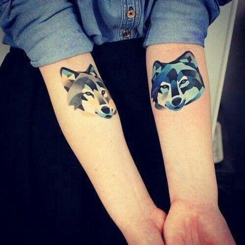 #Tattoo #Wolves