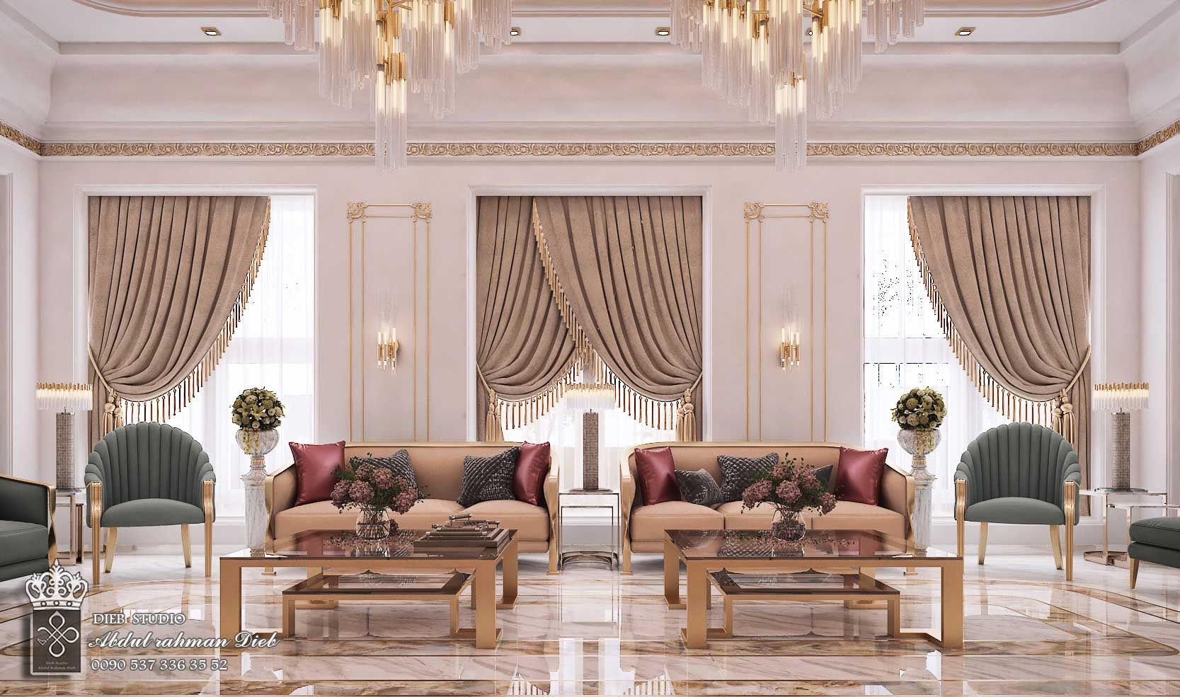 Men Majles In Modern Style Ksa Classic Interior Design Living Room Luxury Mansions Interior Elegant Living Room Design