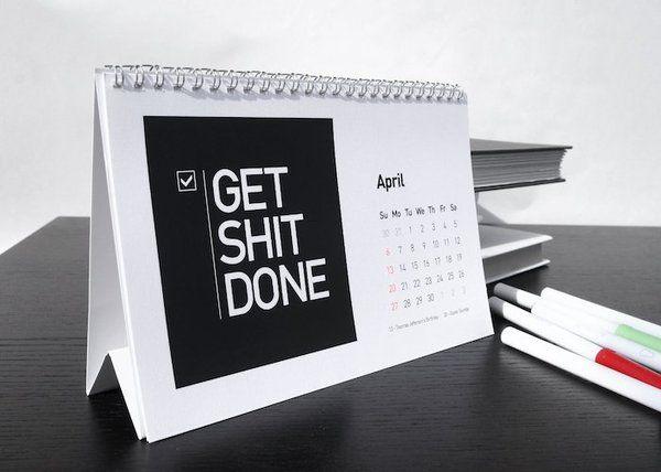 Startup Quote 2014 Desk Calendar | quotes | Pinterest | Desk calendars