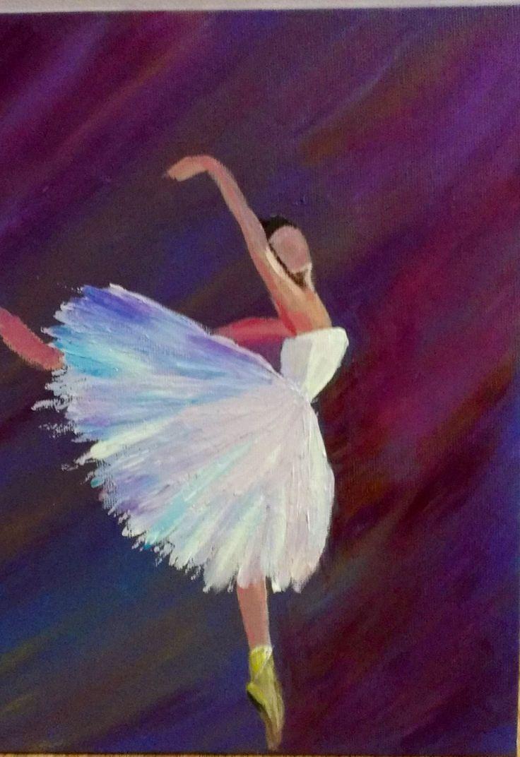 Abstract Ballerina Inspired By Andrew Astroshenko