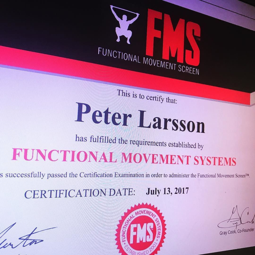 Fms L1 Sometime Beginning Of 2015 Was Where I First Started Testing
