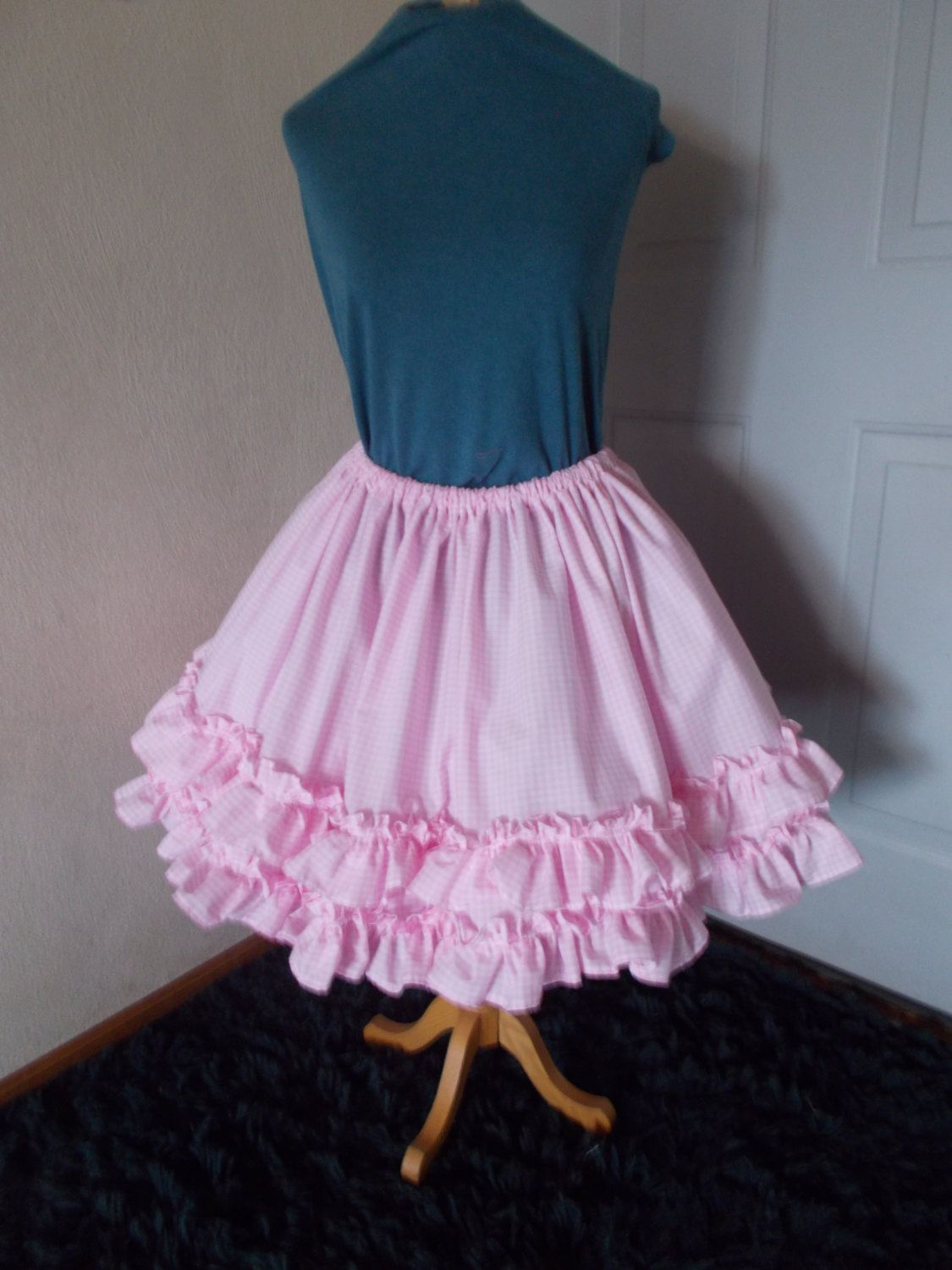 Custom Lolita Dress Skirt Cosplay Lolita Pink Cupcake Skirt Kawaii Skirt Costume. $32.00, via Etsy.