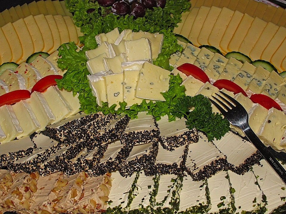 k seplatte buffets pinterest cheese recipes cheese und finger foods. Black Bedroom Furniture Sets. Home Design Ideas