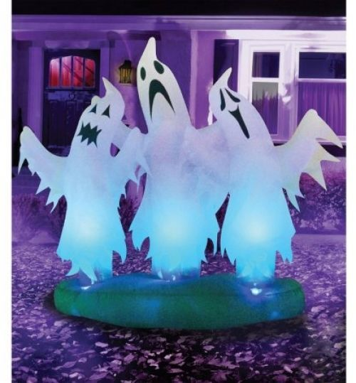 Inflatable Floating Ghosts 6\u0027 Halloween Yard Decor Prop Party